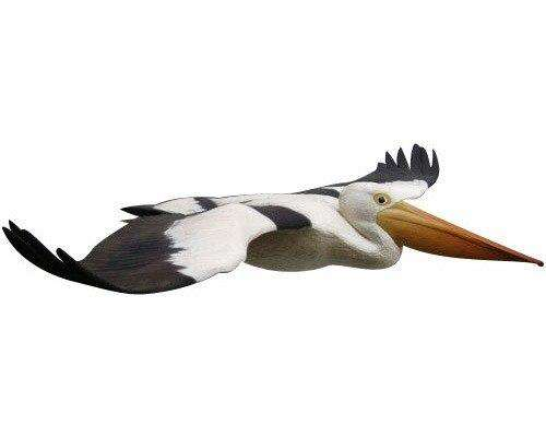 Bird Pelican Flying Animal Prop Life Size Resin Statue - LM Treasures - Life Size Statue