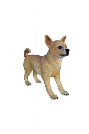 Dog Chihuahua Boy Animal Prop Life Size Deecor  Resin Statue- LM Treasures