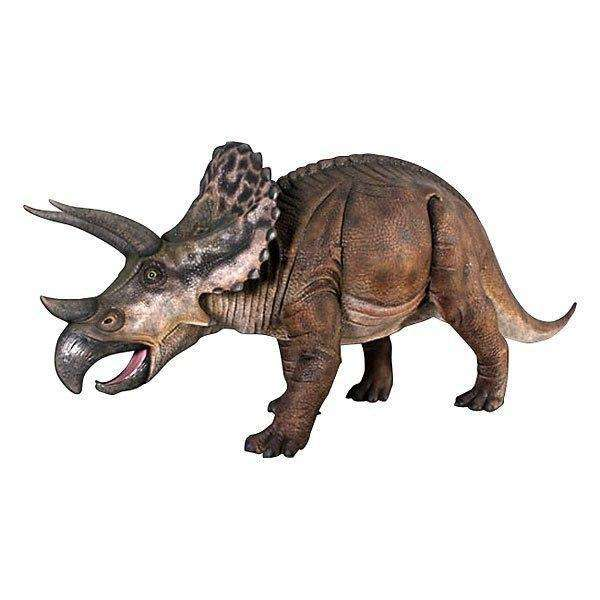 Dinosaur Triceratops Life Size Prehistoric Prop Resin Statue - LM Treasures Life Size Statues & Prop Rental