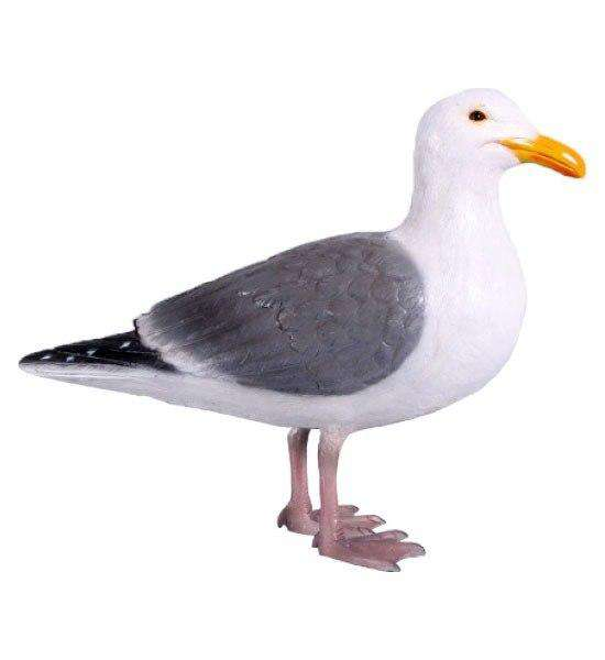 Seagull Life Size Statue - LM Treasures