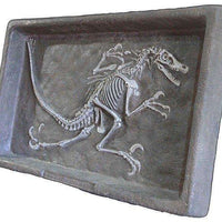 Dinosaur Fossil Dig Velociraptor Prehistoric Prop Resin Statue - LM Treasures Life Size Statues & Prop Rental