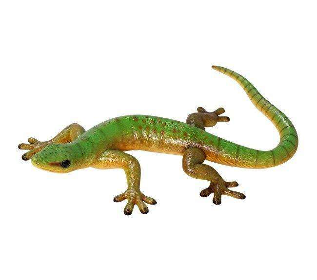Large Gecko Lizard Life Size Statue - LM Treasures Life Size Statues & Prop Rental