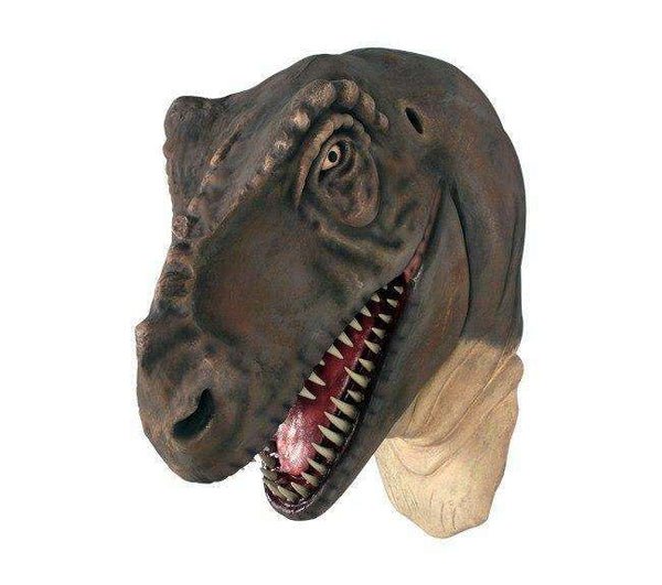 T-Rex Dinosaur Head Large Life Size Statue - LM Treasures Life Size Statues & Prop Rental