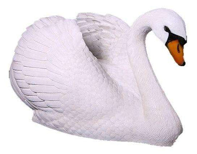Bird Swan Large Animal Prop Life Size Resin Statue- LM Treasures