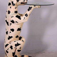 Animal Butler Dog Dalmatian Prop Decor Resin Statue - LM Treasures - Life Size Statue