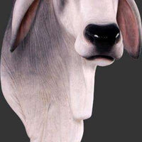 Brahman Bull Head Life Size Statue - LM Treasures Life Size Statues & Prop Rental