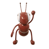 Comic Ant Over Sized Statue - LM Treasures Life Size Statues & Prop Rental