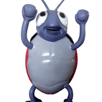 Comic Beetle Over Sized Statue - LM Treasures