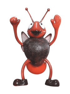 Comic Bee Over Sized Statue - LM Treasures Life Size Statues & Prop Rental