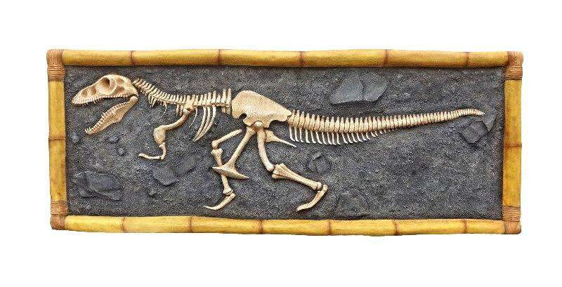 Dinosaur T-Rex Skeleton Wall Decor Prehistoric Prop Resin Statue - LM Treasures Life Size Statues & Prop Rental