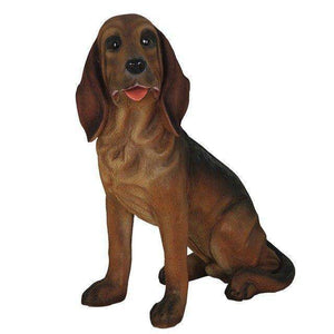 Blood Hound Life Size Statue - LM Treasures