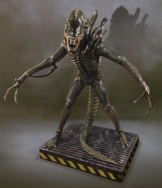 Alien Warrior Life Size Statue Over 6 feet - LM Treasures