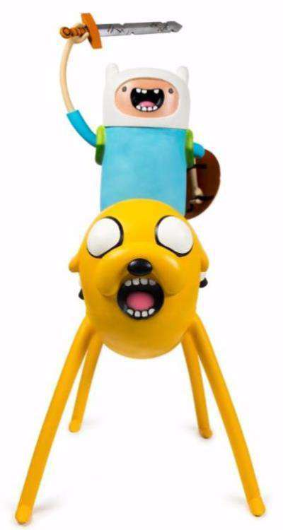 Adventure Time Jake and Finn Foam Figure Statue - LM Treasures