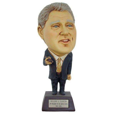 Bill Clinton William Clinton Big Head Statue - LM Treasures Life Size Statues & Prop Rental