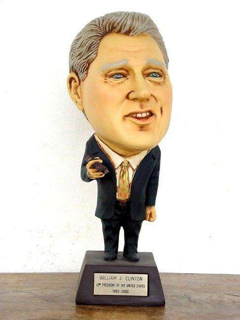 Bill Clinton William Clinton Big Head Statue - LM Treasures