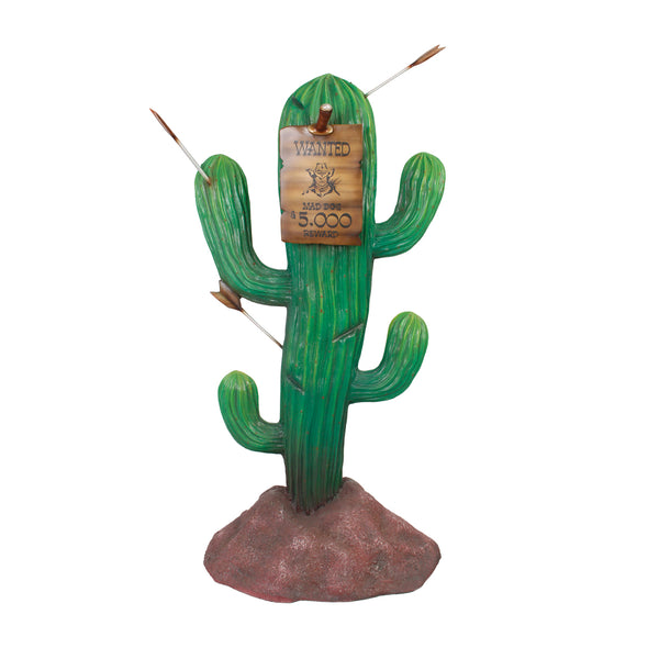 Cactus Sign Western Display Prop Decor Resin Statue - LM Treasures Life Size Statues & Prop Rental