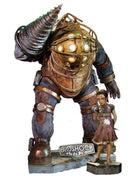 Bioshock Rare Big Daddy & Little Sister Set of 2 Life Size Statue - LM Treasures - Life Size Statue