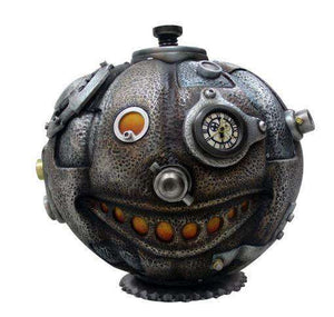 Comic Steampunk Pumpkin Life Size Halloween Decor Prop Statue - LM Treasures Life Size Statues & Prop Rental