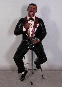 Celebrity Rat Pack Singer Sammy 6 ft. - LM Treasures