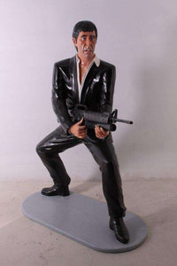 Al Pacino Gangster Life Size Statue - LM Treasures