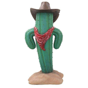 Western Cactus Life Size Statue - LM Treasures