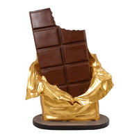 Chocolate Bar Over Sized Statue - LM Treasures