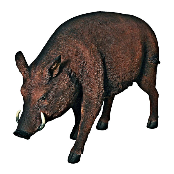 Wild Boar Life Size Statue - LM Treasures Life Size Statues & Prop Rental
