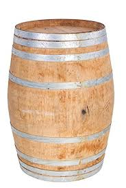 Wooden Wine Barrel Life Size Statue - LM Treasures Life Size Statues & Prop Rental