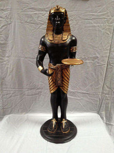Egyptian Servant King Wine Holder Tray - LM Treasures Life Size Statues & Prop Rental