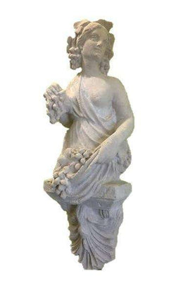 Stone Pomona Wall Decor Greek Roman Prop Resin Decor - LM Treasures Life Size Statues & Prop Rental