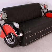 Sofa Motorcycle Vintage Furniture Prop Resin Decor Statue - LM Treasures Life Size Statues & Prop Rental