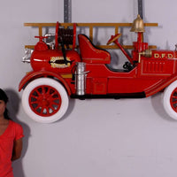 Fire Truck Wall Decor Statue - LM Treasures