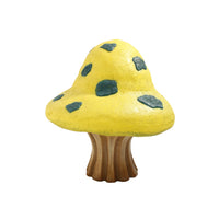 Yellow Fantasy Mushroom Over Sized Statue - LM Treasures Life Size Statues & Prop Rental