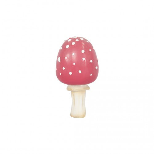 Small Pink Fly Agri Mushroom Over Sized Statue - LM Treasures Life Size Statues & Prop Rental