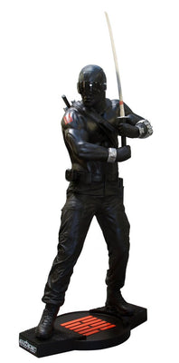 G.I. Joe Snake Eyes Rare Life Size Statue - LM Treasures Life Size Statues & Prop Rental