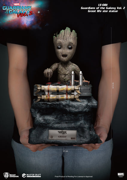 Guardians of the Galaxy Vol. 2 Baby Groot Life Size Statue - LM Treasures Life Size Statues & Prop Rental