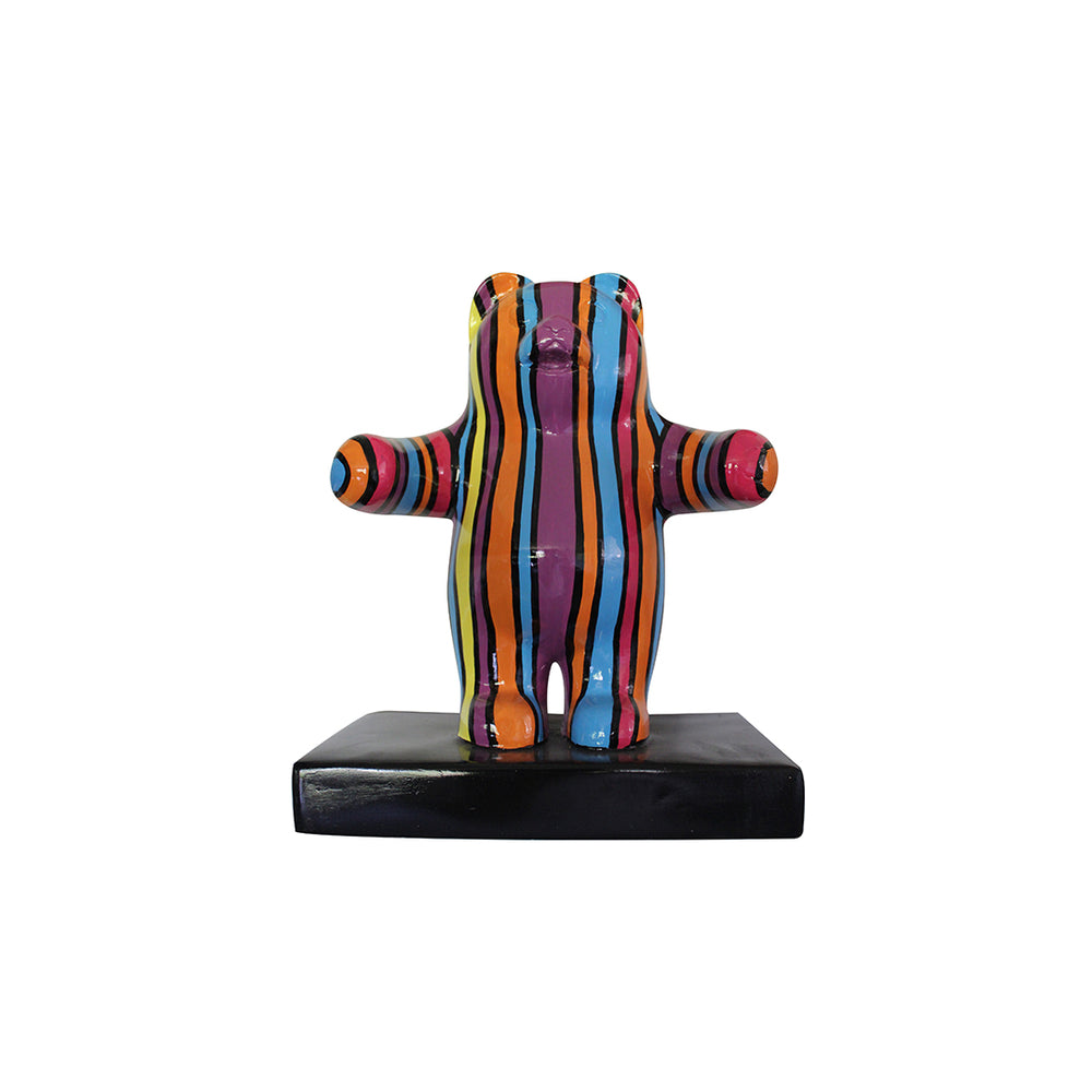 Small Pop Art Gummy Bear Over Sized Statue - LM Treasures
