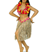 Hawaiian Hula Girl Life Size Statue - LM Treasures