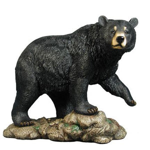 Bear Black American Walking Life Size Prop Resin Statue - LM Treasures