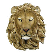 Lion Head Jungle Animal Prop Life Size Resin Statue - LM Treasures Life Size Statues & Prop Rental