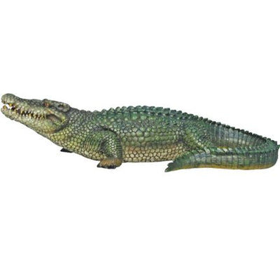 Crocodile Baby Table Top Reptile Prop Resin Decor Statue - LM Treasures Life Size Statues & Prop Rental