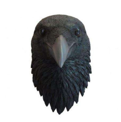 Bird Raven Head Animal Prop Life Size Resin Statue - LM Treasures Life Size Statues & Prop Rental