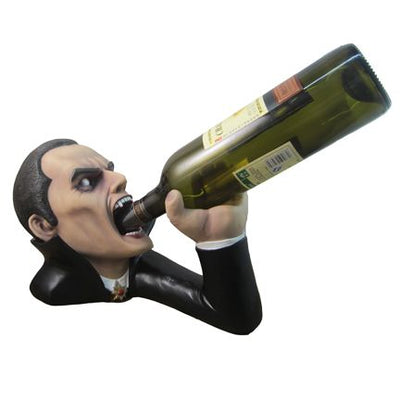 Dracula Wine Holder Halloween Prop Life Size Resin Statue - LM Treasures Life Size Statues & Prop Rental