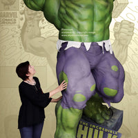 Marvel Universe The Incredible Hulk Life Size Statue - LM Treasures