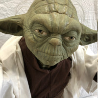Star Wars Yoda Life Size Statue w/ Lightsaber- LM Treasures