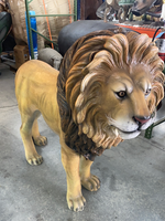 Lion King Life Size Statue - LM Treasures Life Size Statues & Prop Rental