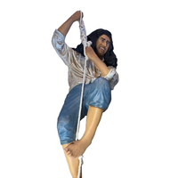 Pirate Hanging on Rope Life Size Statue - LM Treasures Life Size Statues & Prop Rental
