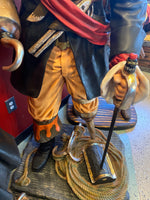Pirate Captain Hook Life Size Statue - LM Treasures Life Size Statues & Prop Rental