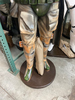 Galactic Space Hunter Life Size Statue - LM Treasures