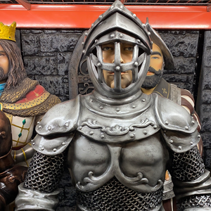 Knight In Armor Life Size Statue - LM Treasures